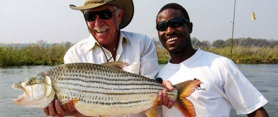 Fishing in Zimbabwe on the Lower Zambezi — photo 01