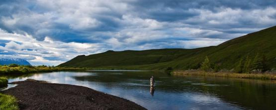 Fishing on the rivers of Iceland — photo 01
